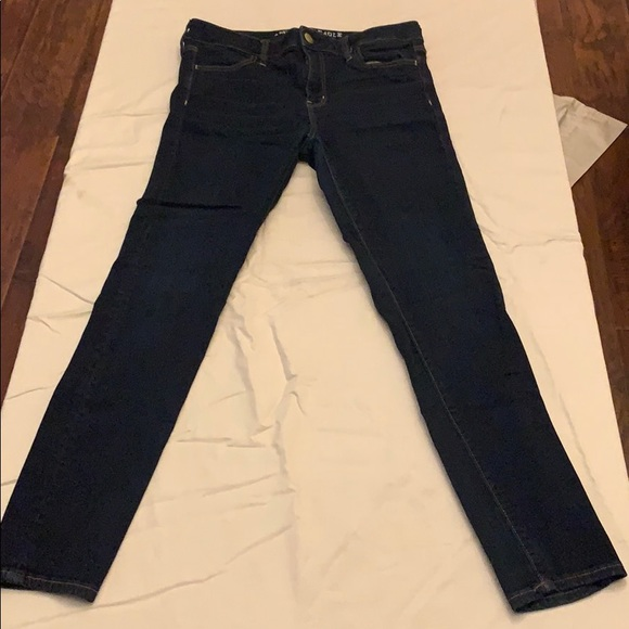 American Eagle Outfitters Denim - AMERICAN EAGLE DARK JEGGING